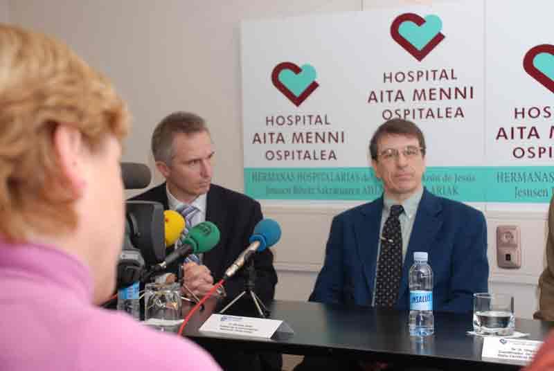 El mayor experto europeo en disartrias imparte una jornada invitado por Aita Menni