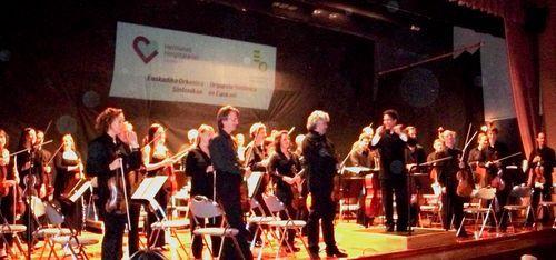La Orquesta Sinfónica de Euskadi ofrece un concierto en el Hospital Aita Menni