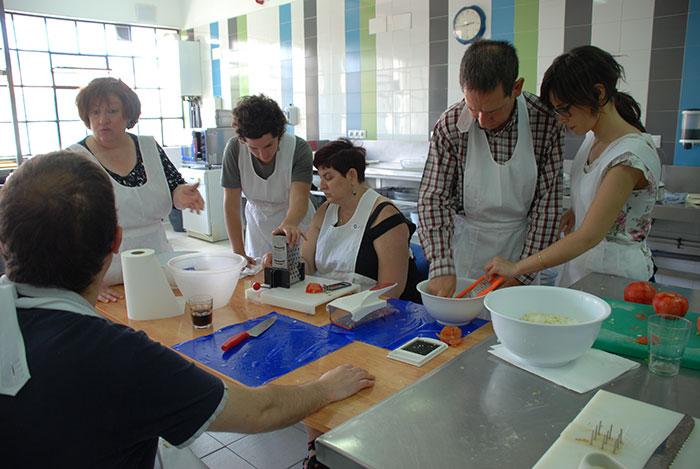 Entrenamiento en actividades de la vida diaria: taller de cocina