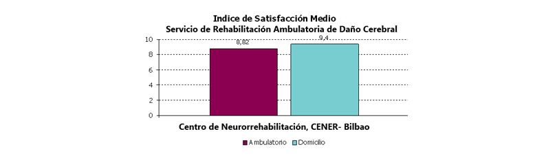 Satisfacción e interesantes observaciones en las encuestas realizadas a pacientes y familiares
