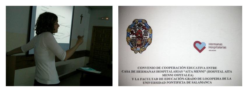 Nekane Galparsoro, Seminario Salamanca