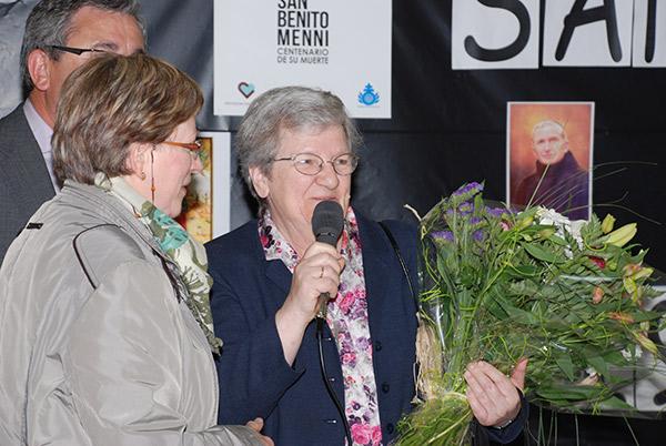 Homenaje 25 años de asistencia en  Aita Menni