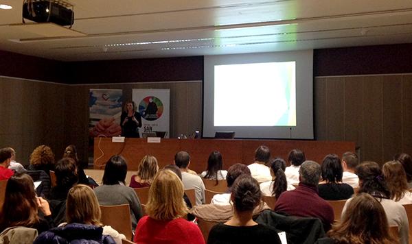 La ponencia de Isabelle Beaudry sobre terapia ocupacional e integración sensorial en niños suscita mucho interés
