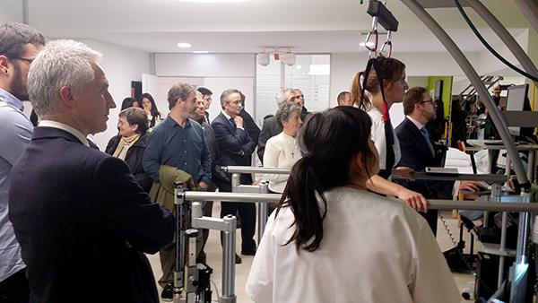 La última tecnología para la rehabilitación del daño cerebral, en el nuevo Centro de Día Aita Menni de San Sebastián