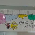 Los usuarios del Centro de Día Aita Menni de San Sebastián finalizan su simbólica peregrinación a Santiago