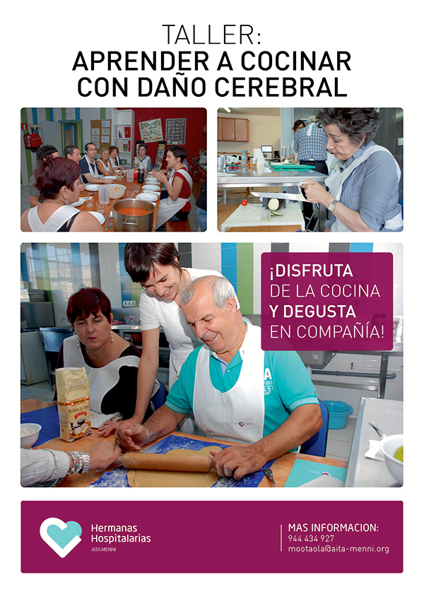 Nueva edici n del taller de cocina aita menni red menni - Talleres de cocina en valencia ...