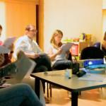 El equipo de logopedas de Aita Menni mantiene enriquecedoras reuniones internas