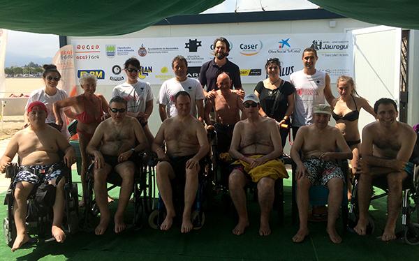 Inauguración oficial del programa de Baño sin Barreras en Hondarribia. ¡¡Allí estuvimos!!