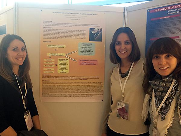 Las logopedas de la UDC de Valladolid participaron en el l Congreso de Medicina Miofuncional Orofacial