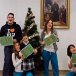 Usuarios, familias y profesionales de la UDC de Valencia os desean Feliz Navidad