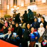 Los peques de la UDC de Valencia pudieron disfrutar de la cabalgata de Reyes