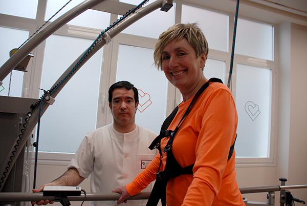 Mª Luisa Goikoetxea, abanderada de la accesibilidad
