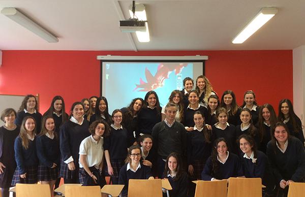 Interesante colaboración entre el Colegio Eskibel y el Centro de Día de Daño Cerebral de San Sebastián