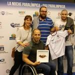 Asistimos a la Noche Paralímpica. Somos parte de la familia del deporte inclusivo