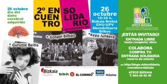 Música y humor para celebrar el Día del Daño Cerebral en Bilbao