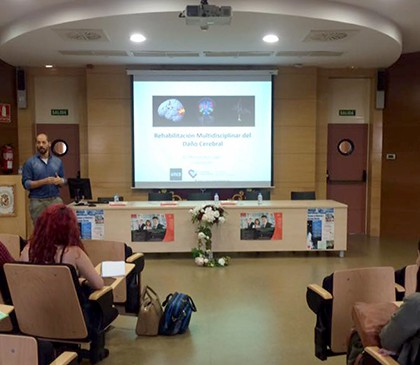 Hablamos de 'Rehabilitación multidisciplinar del daño cerebral' en la Universidad de Castilla-La Mancha