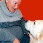 Terapia asistida con perros en el Centro de Día Aita Menni de Bilbao