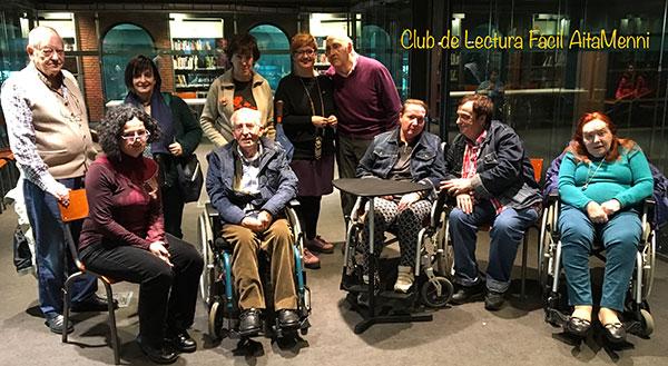 El grupo de Lectura Fácil Aita Menni de Bilbao finaliza su segundo libro con ganas de más