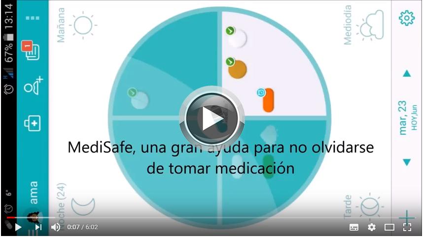 Recordatorio medicación rehabilitación