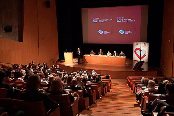 La Red Menni celebra en el Guggenheim los 25 años de su primer Servicio de Daño Cerebral