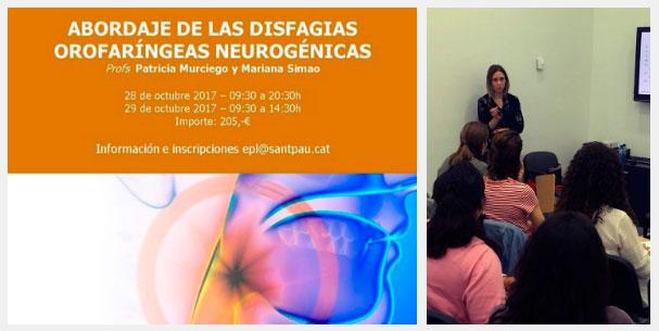 Compartimos experiencia sobre patología de la deglución y daño cerebral