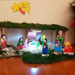 Actividades navideñas. Un belén para trabajar en grupo la motricidad fina