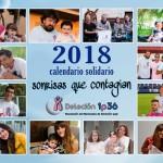 Calendarios solidarios en el Centro de Neurorrehabilitación Aita Menni de Bilbao