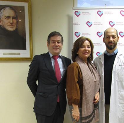 La Unidad de Rehabilitación Infantil de Hermanas Hospitalarias en Madrid firma un nuevo convenio con Hiru Hamabi