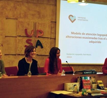 Logopedas de la Red Menni imparten un taller sobre DCA en la Universidad Pontificia de Salamanca