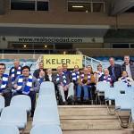 Futbolistas veteranos y Real Sociedad reparten momentos felices entre las personas usuarias de Zuatzu