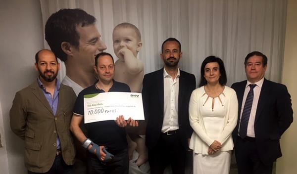 DKV otorga 10.000 euros al proyecto 'Deporte y daño cerebral' de Hermanas Hospitalarias en Madrid