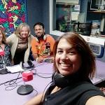 Compartiendo experiencias en la radio en torno al Día del Daño Cerebral