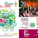 Zarzuela, deporte, exposición de barro y mucho más para celebrar el 26 de octubre