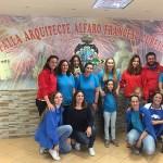 La Falla Arquitecto Alfaro – Francisco Cubells, solidaria con Hermanas Hospitalarias Valencia