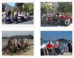 Trekking y ciclismo adaptados