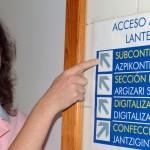 Raquel Ruiz, feliz de poder trabajar con daño cerebral adquirido