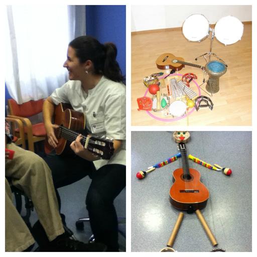 musicoterapia en Aita Menni