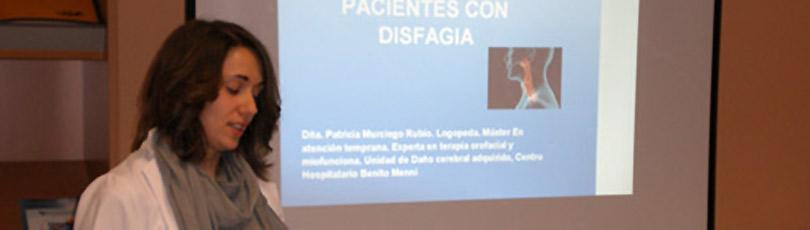 El equipo multidisciplinar de Valladolid amplía sus conocimientos sobre la disfagia
