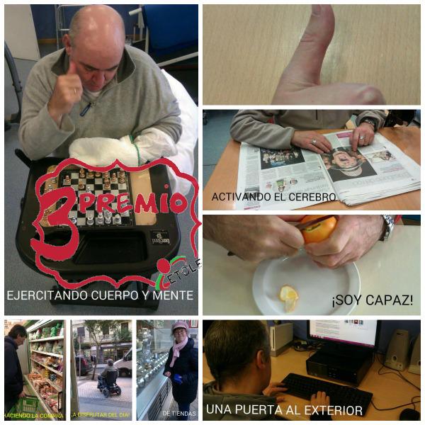 Fotos presentadas al Concurso Etole 'Esto es terapia ocupacional'