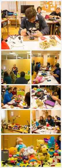 Taller de adaptación de juguetes. UDC Hermanas Hospitalarias, Valencia