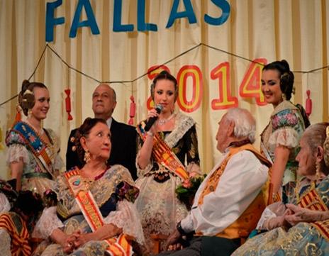 Fallera 2014