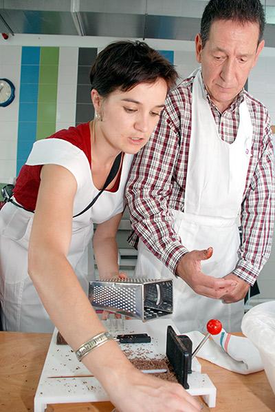 Taller de cocina para personas con secuelas de un ictus