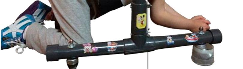 Construir un gateador de bajo coste para facilitar otra forma de desplazamiento