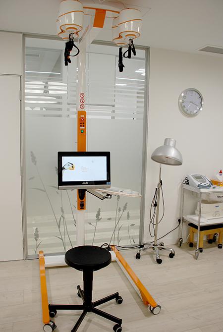 El robot Diego®, ya instalado el nuevo Centro de Día de Daño Cerebral Aita Menni de Donostia-San Sebastián.