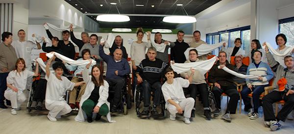 Naroa Agirre amadrina el comienzo de nuestra cadena #notireslatoalla en apoyo al daño cerebral