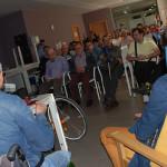 Sesión de 'coaching' en el Centro de Día Bekoetxe