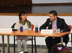Amalia Diéguez y Sergio Moreno