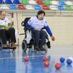 El Centro de Día Aita Menni de Bilbao se acerca a la boccia de la mano de la Agrupación Deportiva