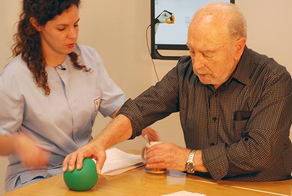 Rehabilitación miembros superior moderadamente afectado