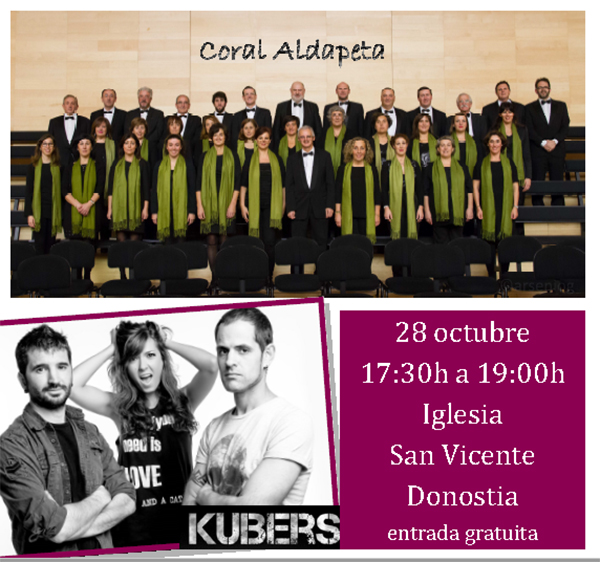 Un concierto en el que intervienen personas con daño cerebral en el Día del DCA en San Sebastián